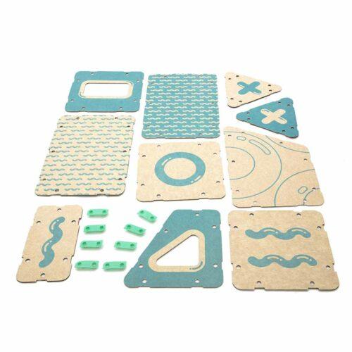 juguetes para niños niñas kit creatividad 9 figuras piezas